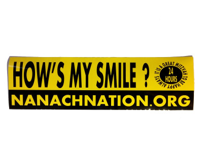 HOW'S MY SMILE? sticker