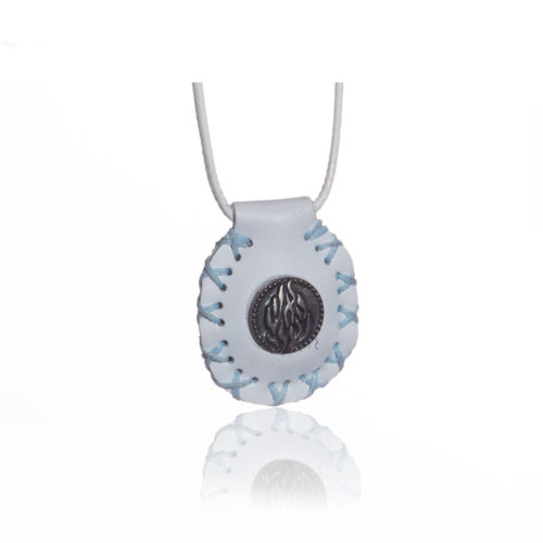 breslov shop nanach amulet color white and blue with my fire